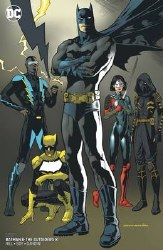 Batman And The Outsiders Vol 3 #8 Cover B Variant Kevin Nowlan Cover