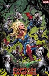 Captain Marvel Vol 9 #13 Cover D Variant Josh Cassara Venom Island Cover