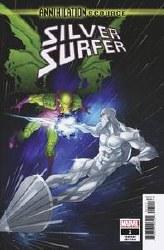Annihilation Scourge Silver Surfer #1 Cover B Variant Ozgur Yildirim Cover