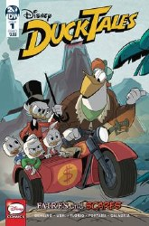 Ducktales Faires And Scares #1 (of 3) Cover A Regular Marco Ghiglione & Cristina Stella Cover