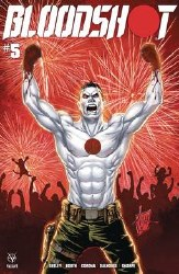 Bloodshot Vol 4 #5 Cover B Variant Billy Tucci Cover