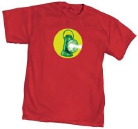 Golden Age Green Lantern Symbol T-Shirt Size Medium