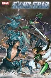 Atlantis Attacks #1 (of 5) Cover A Regular Rock-He Kim Cover