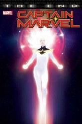 Captain Marvel The End One Shot Cover A Regular Rahzzah Cover