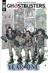 Ghostbusters Year One #1 Cover C 1:10 Incentive Tim Lattie Variant Cover