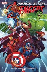 Marvel Action Avengers Vol 2 #1 Cover B Incentive Jacob Edgar Variant Cover