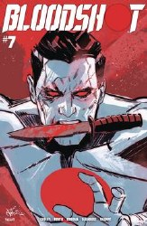 Bloodshot Vol 4 #7 Cover C Variant Nik Virella Cover