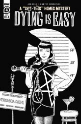 Dying Is Easy #4 Cover C Incentive Gabriel Rodriguez Black & White Cover