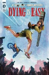 Dying Is Easy #4 (of 5) Cover A Regular Martin Simmonds Cover