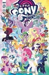 My Little Pony Friendship Is Magic #88 Cover A Regular Tony Fleecs Cover