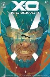 X-O Manowar (2020) #1 Cover A Regular Christian Ward Cover