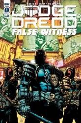 Judge Dredd False Witness #1 Cover A Regular Kei Zama Cover