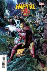 Empyre Avengers #0 Cover A Jim Cheung Main Cover