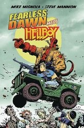 Fearless Dawn Meets Hellboy One Shot Cover B Variant Mike Mignola Cover