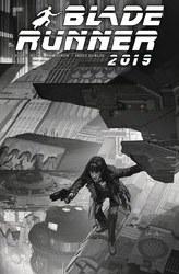 Blade Runner 2019 #9 Cover E Variant Tommy Lee Edwards Black & White Cover