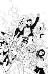 Young Justice V.3 #17 Cover B Mirka Andolfo Variant Cover