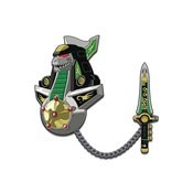 Power Rangers Dragonzord Enamel Pin