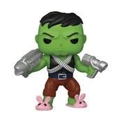 Pop Super Marvel Heroes Professor Hulk Px 6in Vin Fig W/Chas sor Hulk Px 6in Vin Fig W/Chas