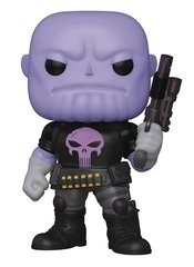 Pop Super Marvel Heroes Thanos Earth-18138 Px 6in Vin Figure