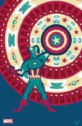 Captain America Vol 9 #25 Cover B Variant Jeffrey Veregge Native American Heritage Tribute Captain America Cover