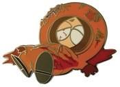 South Park Dead Kenny Enamel Pin