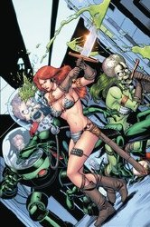 Mars Attacks Red Sonja #5 Cover H 1:20 Incentive Barry Kitson Virgin Cover