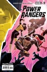 Power Rangers #2 Cover A Regular Matteo Scalera Cover