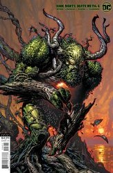 DARK NIGHTS DEATH METAL #6 (OF 7) COVER B DAVID FINCH SWAMP THING VARIANT COVER