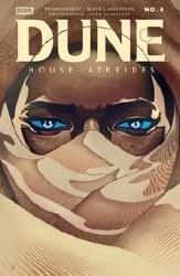 Dune House Atreides #4 (of 12) Cover B Variant Mike Del Mundo Cover