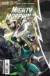 Mighty Morphin #3 Cover A Regular Inhyuk Lee Cover