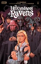 An Unkindness Of Ravens #5 (of 5) Cover A Regular Dan Panosian Cover