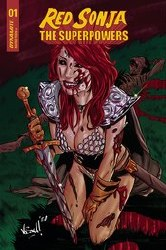 Red Sonja The Superpowers #1 Cover H 1:10 Incentive Vincenzo Federici Zombie Variant Cover