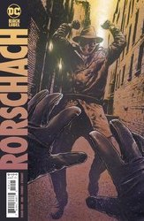 Rorschach #4 Cover B Variant Travis Charest Cover