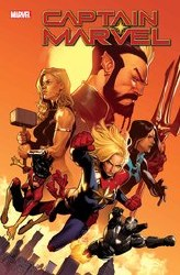 Captain Marvel Vol 9 #26 Cover A Regular Jorge Molina Cover