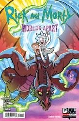 Rick And Morty Worlds Apart #1 Cover A Regular Tony Fleecs & Jarrett Williams Cover