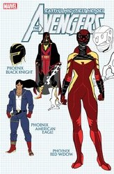 Avengers Vol 7 #42 Cover E 1:10 Ratio Incentive Javier Garron Design Variant Cover