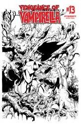 Vengeance Of Vampirella Vol 2 #13 Cover G 1:11 Incentive Roberto Castro Black & White Cover