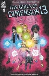 Girls Of Dimension 13 #1 Cover A Regular Bret Blevins & Greg Wright Cover