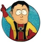 South Park Captain Hingsight Pin