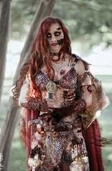 DieNamite #4 Cover N 1:11 Ratio Incentive Savannah Polson Zombie Cosplay Photo Virgin Cover