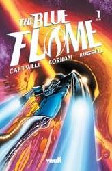 Blue Flame #1 Cover A Regular Adam Gorham Cover