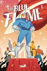 Blue Flame #1 Cover B Variant Yoshi Yoshitani Cover