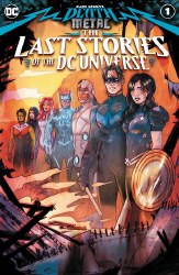 DARK NIGHTS DEATH METAL: THE LAST STORIES OF THE DC UNIVERSE ONE-SHOT COVER A TULA LOTAY MAIN COVER