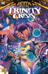 Dark Nights Death Metal Trinity Crisis One Shot Cover A Francic Manapul Main Cover