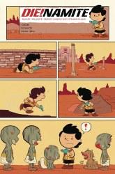 DieNamite #5 Cover G Variant Jacob Edgar Peanuts Homage Cover