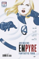 Empyre#2 (of 6) Cover D Michael Cho Fantastic Four Variant Cover