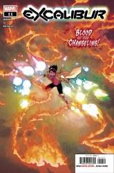 Excalibur Vol 4 #11 Cover A Mahmud Asrar Main Cover