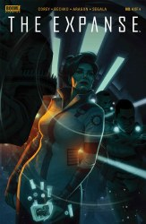Expanse #4 Cover B Variant Tigh Walker Cover