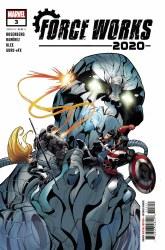 2020 Force Works #3 (of 3) Cover A Regular Juanan Ramirez Cover