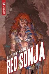 Invincible Red Sonja #2 Cover A Regular Amanda Conner Cover